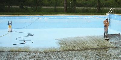 Un Karcher pour nettoyer sa piscine
